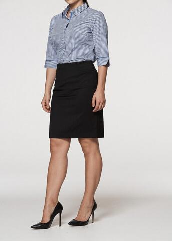 Aussie Pacific Knee Length Skirt Lady Skirts (2802)