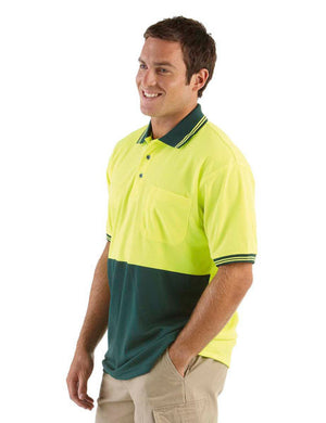 JB's Wear-Jb's Hi Vis Short Sleeve Traditional Polo - Adults--Uniform Wholesalers - 3
