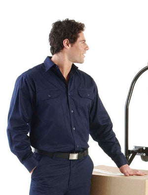 JB's Wear-Jb's Long Sleeve 150g Work Shirt--Uniform Wholesalers - 1