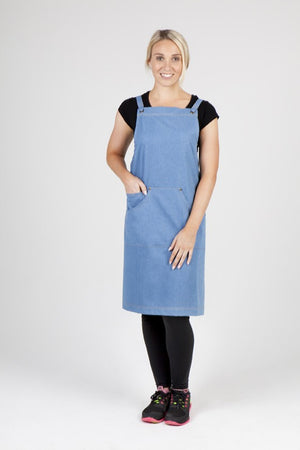 Ramo-Ramo Denim Bib Apron	(new)--Uniform Wholesalers - 1