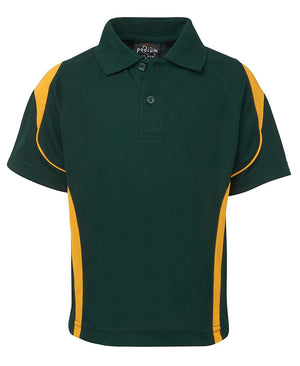 JB's Wear-JB'S Bell Polo Adults 1st( 12 Colour)-Bottle/Gold / S-Uniform Wholesalers - 10
