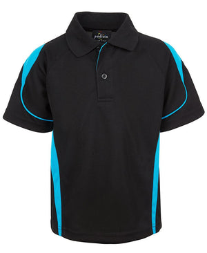JB's Wear-JB'S Bell Polo Adults 1st( 12 Colour)-Black/Aqua / S-Uniform Wholesalers - 4