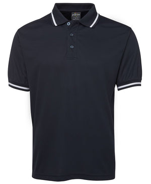 JB's Wear-JB's Podium Bold Polo - Adults-Navy/White / S-Uniform Wholesalers - 5
