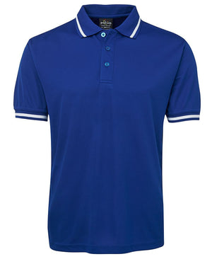 JB's Wear-JB's Podium Bold Polo - Adults-Royal/White / S-Uniform Wholesalers - 6