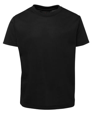 JB's Wear-JB's Kids New Fit Poly Tee-Black / 4-Uniform Wholesalers - 6