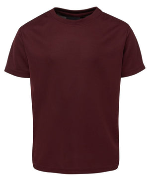 JB's Wear-JB's  Adults Fit Poly Tee-Maroon / S-Uniform Wholesalers - 6