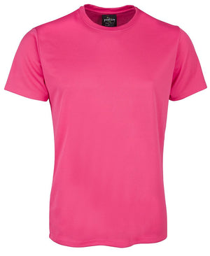 JB's Wear-JB's  Adults Fit Poly Tee-Hot Pink / S-Uniform Wholesalers - 14