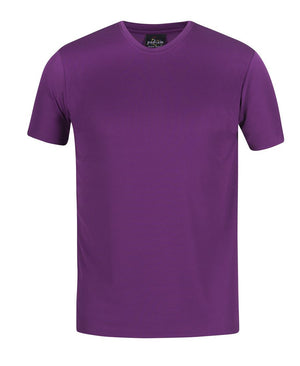 JB's Wear-JB's Kids New Fit Poly Tee-MULBERRY / 4-Uniform Wholesalers - 16