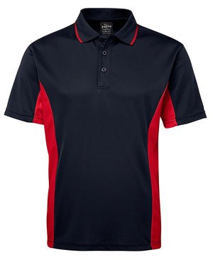 JB's Wear-JB's Podium Contrast Polo Adult(1st 12 colours)-Navy/Red / S-Uniform Wholesalers - 10