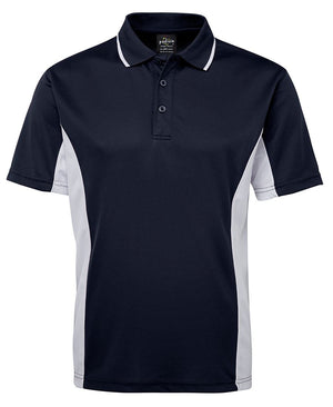 JB's Wear-JB's Podium Contrast Polo Adult(1st 12 colours)-Navy/White / S-Uniform Wholesalers - 11