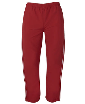 JB's Wear-JB's Adult Warm Up Zip Pant-Red/White / S-Uniform Wholesalers - 4