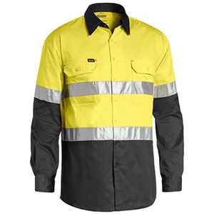 Bisley 3M Taped Cool Hi Vis Light Weight Shirt (BS6696T)