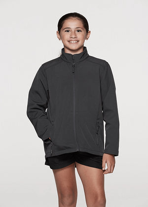 Aussie Pacific Selwyn Kids SoftShell Jacket-(3512)