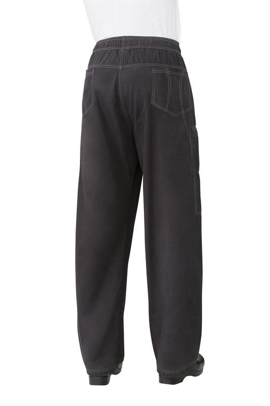Chef Works-Chef Works Enzyme Utility Pants-XS / Smoke-Uniform Wholesalers - 2