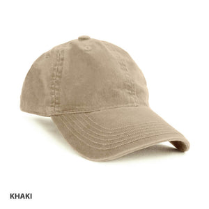 Grace Collection Enzyme Washed Cap(AH130/HE130)