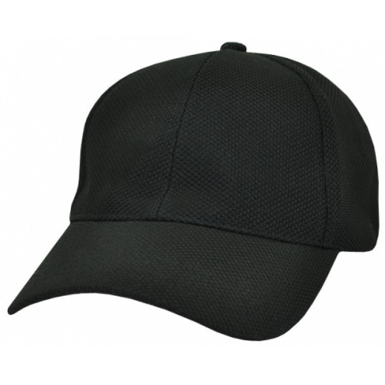 Grace Collection-Grace Collection PQ Mesh Fitted Cap-Black / Free Size-Uniform Wholesalers - 2