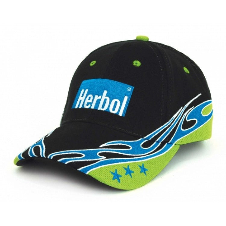 Grace Collection-Grace Collection Cypress Cap-Black/Aqua/Lime / Free Size-Uniform Wholesalers - 2