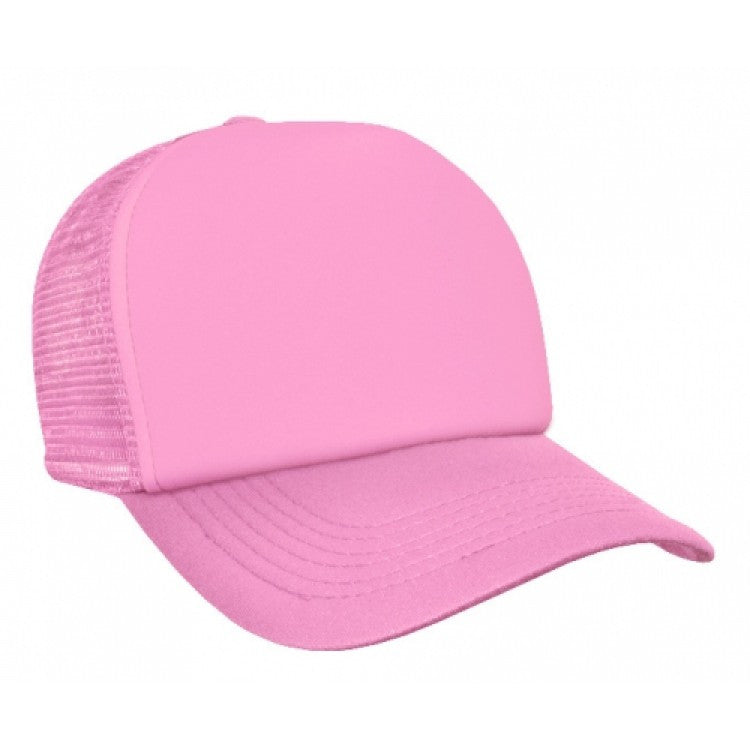 Grace Collection-Grace Collection Trucker Mesh Cap-Pink / Free Size-Uniform Wholesalers - 2