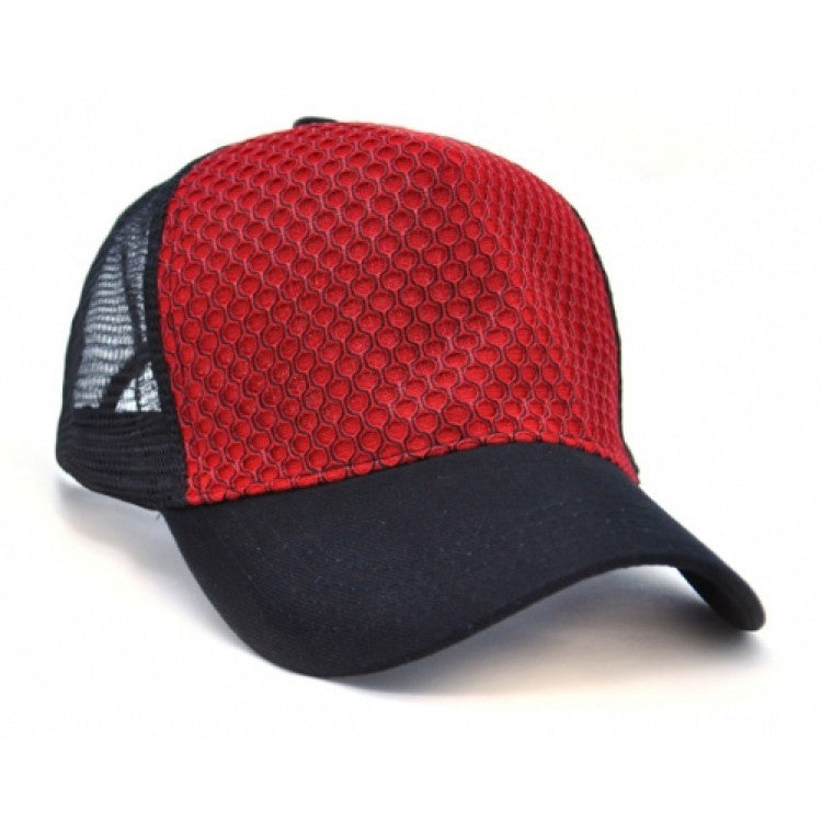 Grace Collection-Grace Collection Aspect Cap-Red/Black / Free Size-Uniform Wholesalers - 2