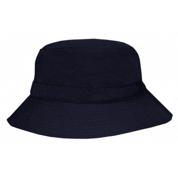 Grace Collection-Grace Collection Polyviscose School Bucket Hat-Navy / S/S - 54cm-Uniform Wholesalers - 2