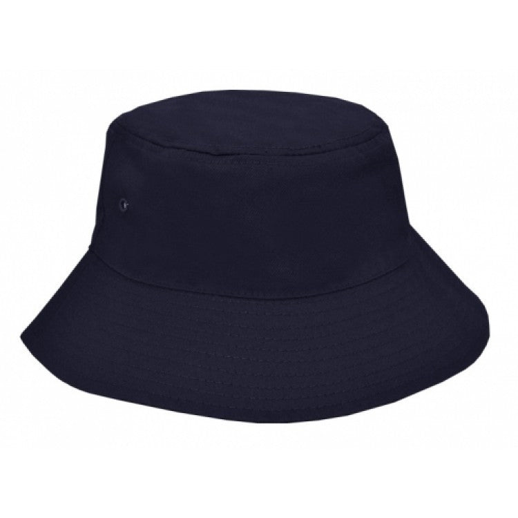 Grace Collection-Grace Collection Polycotton School Bucket Hat-Navy / S/S - 54cm-Uniform Wholesalers - 2