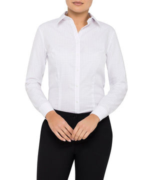Van Heusen Women'S Classic Fit Shirt 100% Premium Cotton Check (AWLB500)