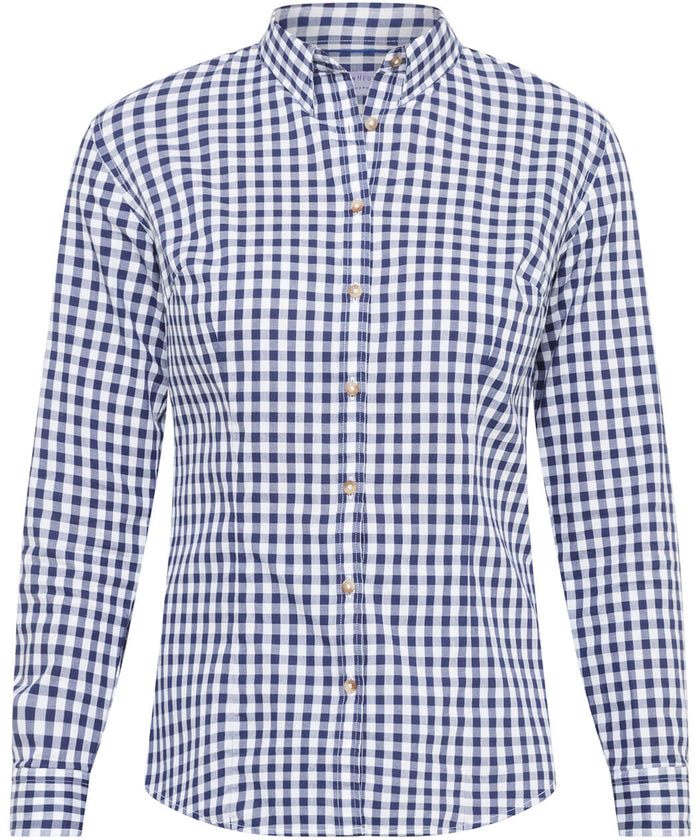 Van Heusen Women'S Classic Fit Shirt 100% Premium Cotton Check (AWLB504)