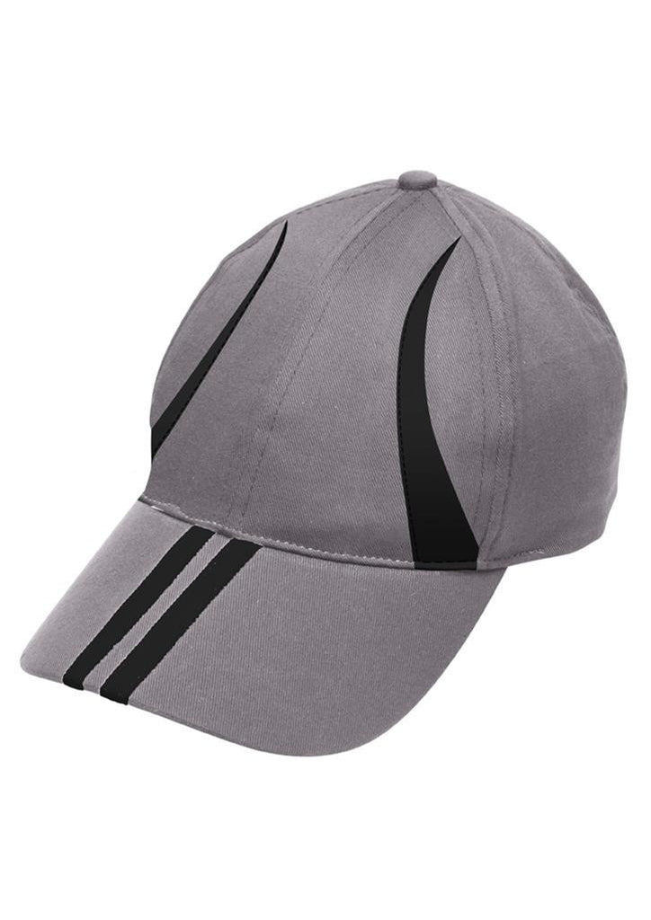 Biz Collection-Biz Collection Flash Cap-Ash / Black-Uniform Wholesalers - 2