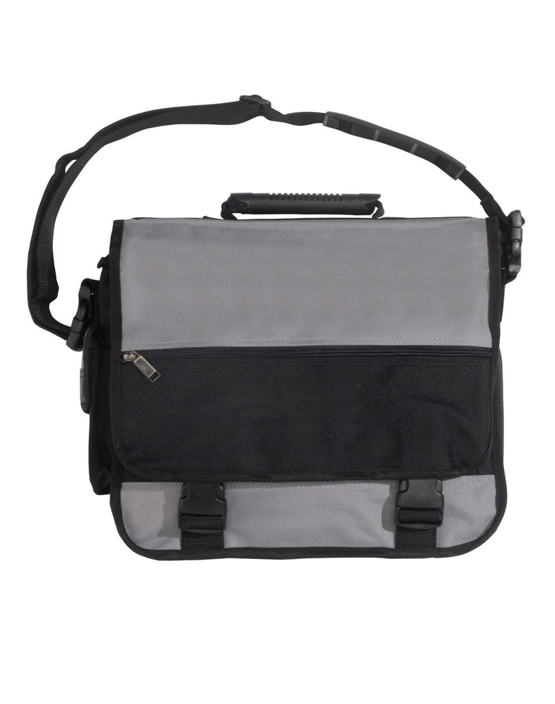 Winning Spirit-Winning Spirit Executive conference satchel-Black/Grey-Uniform Wholesalers