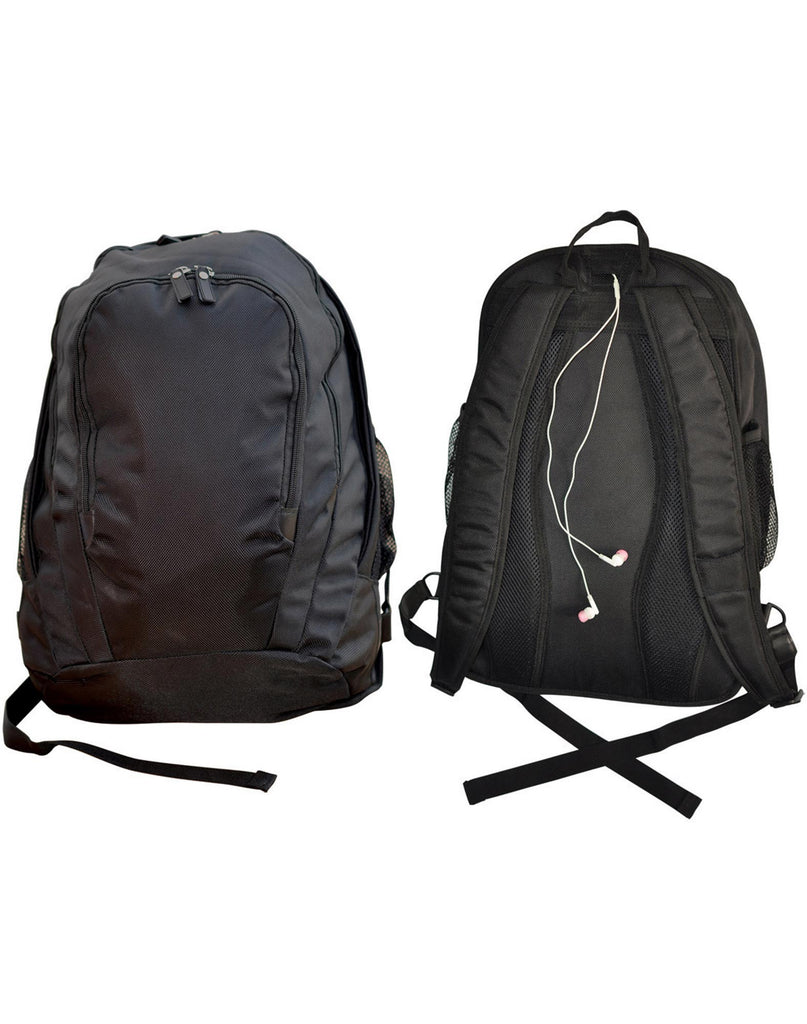 Winning Spirit-Winning Spirit Excutive Backpack-Black-Uniform Wholesalers