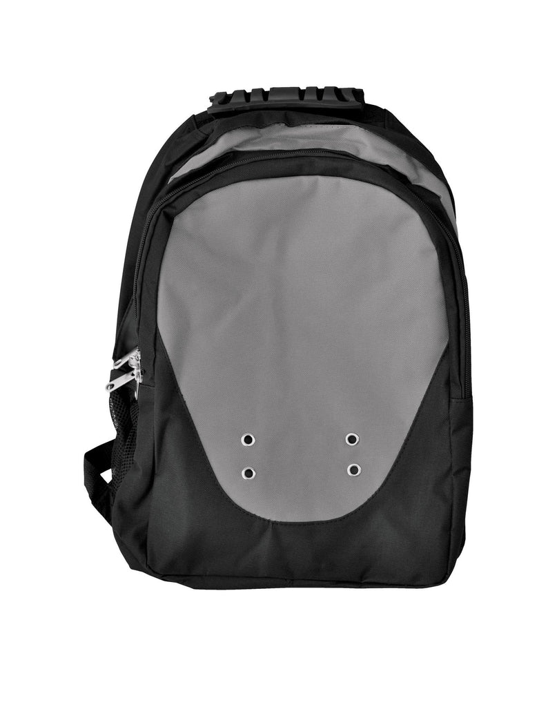 Winning Spirit-Winning Spirit Climber Backpack-Black/Charcoal-Uniform Wholesalers - 1