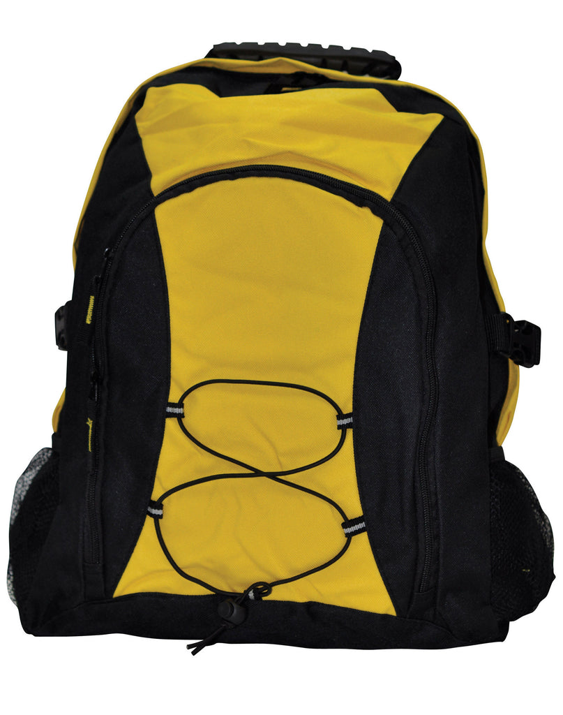 Winning Spirit-Winning Spirit Smartpack Backpack-Black/Gold-Uniform Wholesalers - 2