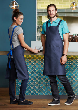 Biz Collection Unisex Urban Bib Apron (BA55)
