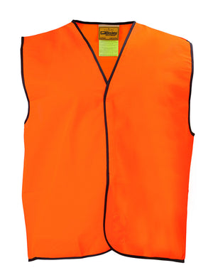 Bisley Workwear-Bisley Hi-Vis Vest-Orange / S-Uniform Wholesalers - 1