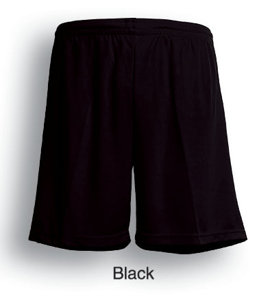 Bocini-Bocini Adults Breezeway Football Shorts-Black / S-Uniform Wholesalers - 2