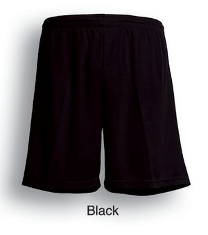 Bocini-Bocini Kids Breezeway Plain Shorts-Black / 6-Uniform Wholesalers - 2