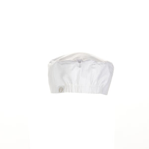Chef Works  White Basic Beanie-(BNWH)