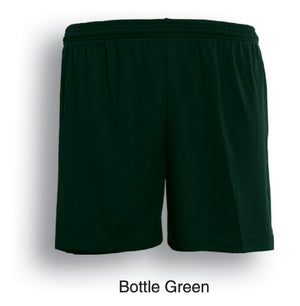 Bocini-Bocini Adults Plain Soccer Shorts-Bottle Green / S-Uniform Wholesalers - 3
