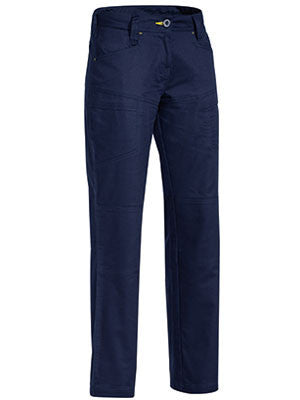 Bisley Workwear-Bisley Womens X Airflow™ Ripstop Vented Work Pant-Navy / 14-Uniform Wholesalers - 1
