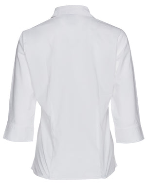 Winning Spirit Women's Teflon Executive 3/4 Sleeve Shirt (BS07Q)
