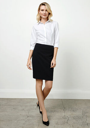 Biz Collection Ladies Classic Knee Length Skirt (BS128LS)