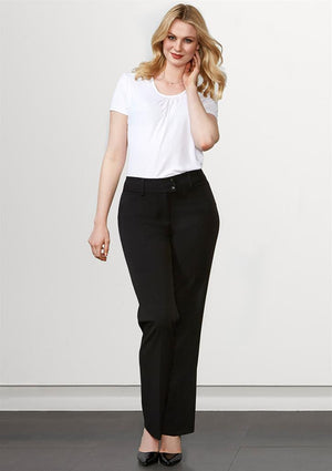 Biz Collection-Biz Collection Ladies Eve Perfect Pant--Uniform Wholesalers - 1