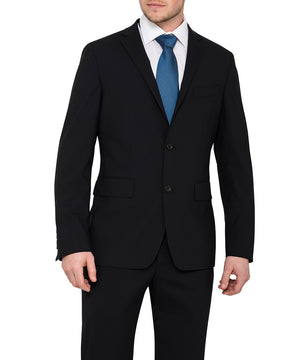 Van Heusen Men'S Stretch Wool Blend Plain Weave Suit Separate Euro Blazer (BVEBLZ08)