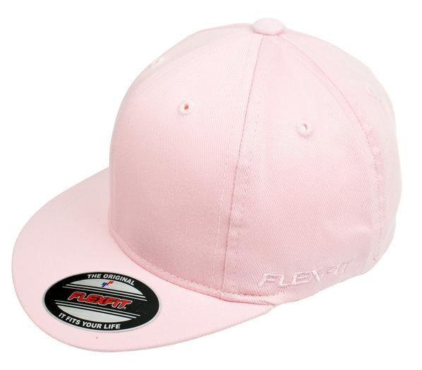 FLEXFIT-FLEXFIT 6277T Perma Curve Toddler Caps (age 1 To 3 YR Old )-Baby Pink / 45-47CM-Uniform Wholesalers - 1