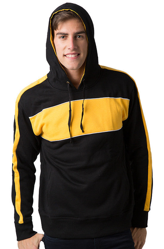 Be Seen-Be Seen Adults Three Toned Hoodie With Contrast--Uniform Wholesalers - 6