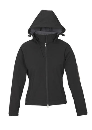 Biz Collection-Biz Collection Ladies Summit Jacket-Black / Graphite / S-Uniform Wholesalers - 2