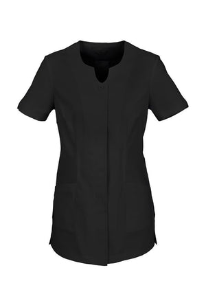 Biz Collection-Biz Collection Ladies Eden Tunic-Black / 6-Uniform Wholesalers - 2