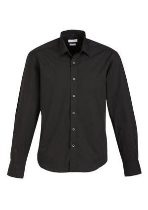 Biz Collection Mens Berlin Long Sleeve Shirt (S121ML)-Clearance