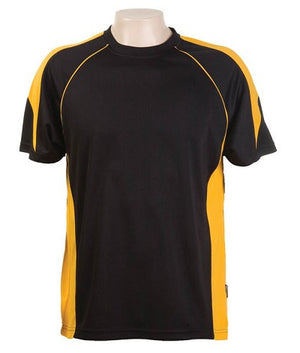 Australian Spirit-Aus Spirt Olympikool Tees 1st ( 10 Colour )-Black / Gold / M-Uniform Wholesalers - 5