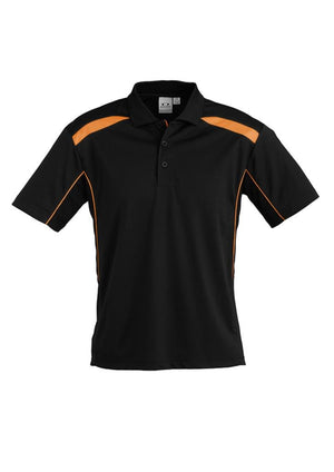 Biz Collection-Biz Collection United Polo Kids - S/S 1st  ( 11 Colour )-4 / Black / Orange-Corporate Apparel Online - 5